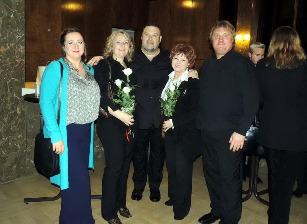 Cecília Lloyd, Andrássy Krisztina, Andrássy Frigyes, Geszty Glória, Fenyvesi Attila