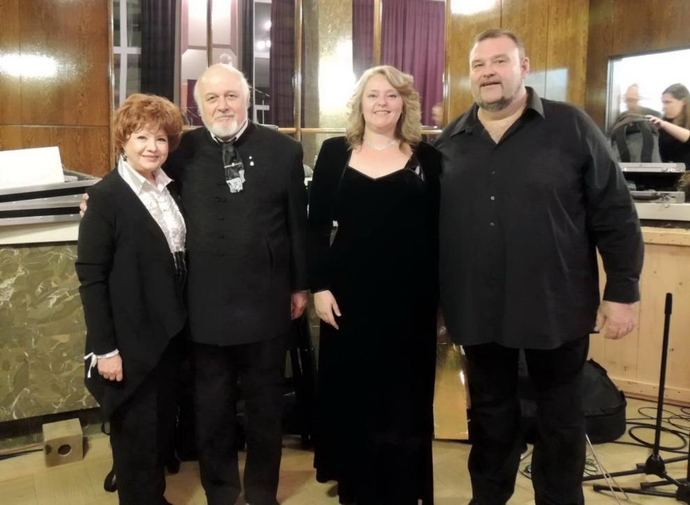 Geszty Glória, dr. Sántha Gábor, Andrássy Krisztina, Andrássy Frigyes